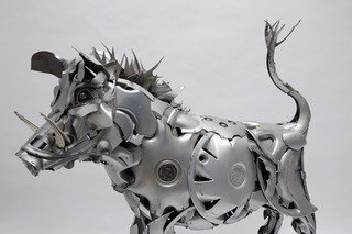 The Man Who Turns Car Parts into Animal Art