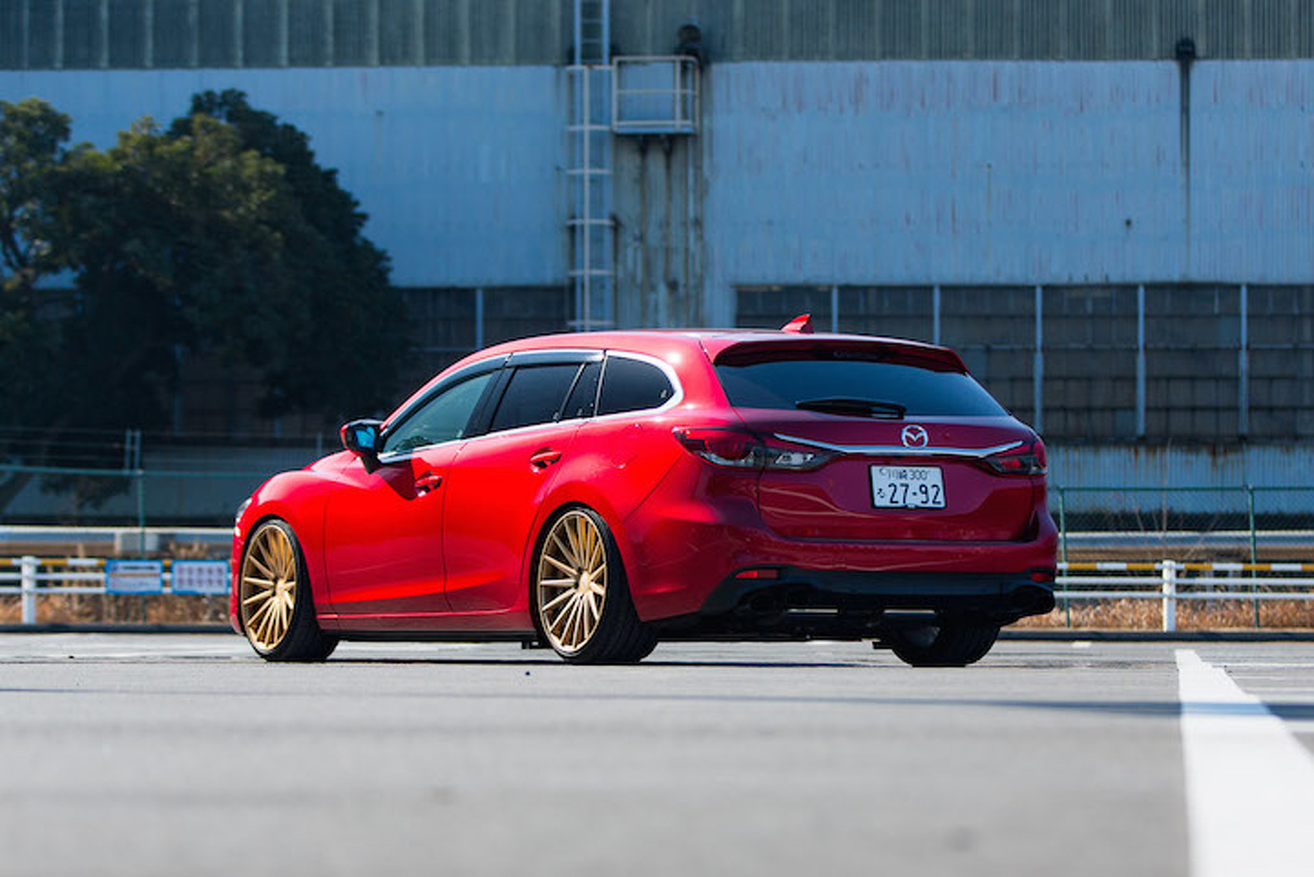 Mazda 6 Redefines the Term 'Swag Wagon' Riding On Vossen Wheels