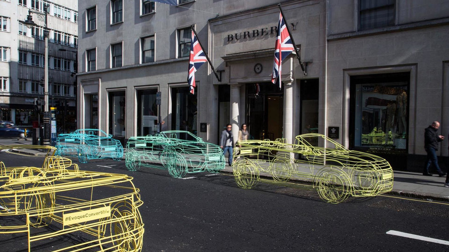 Range Rover Evoque Cabrio teased, debuts next month