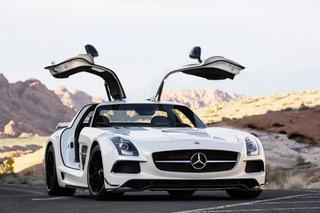 The 2014 Mercedes-Benz SLS AMG Black Series: Track Focused Luxury GT