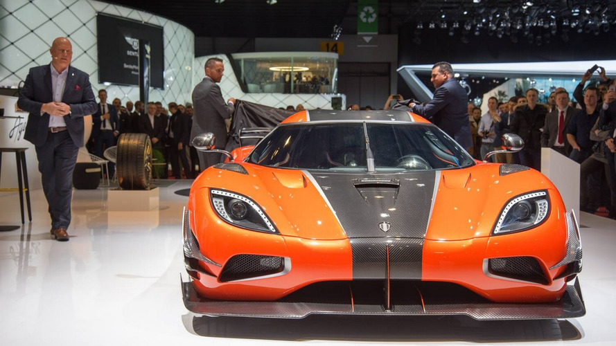 Koenigsegg Agera One of 1 unveiled with 1,360 hp