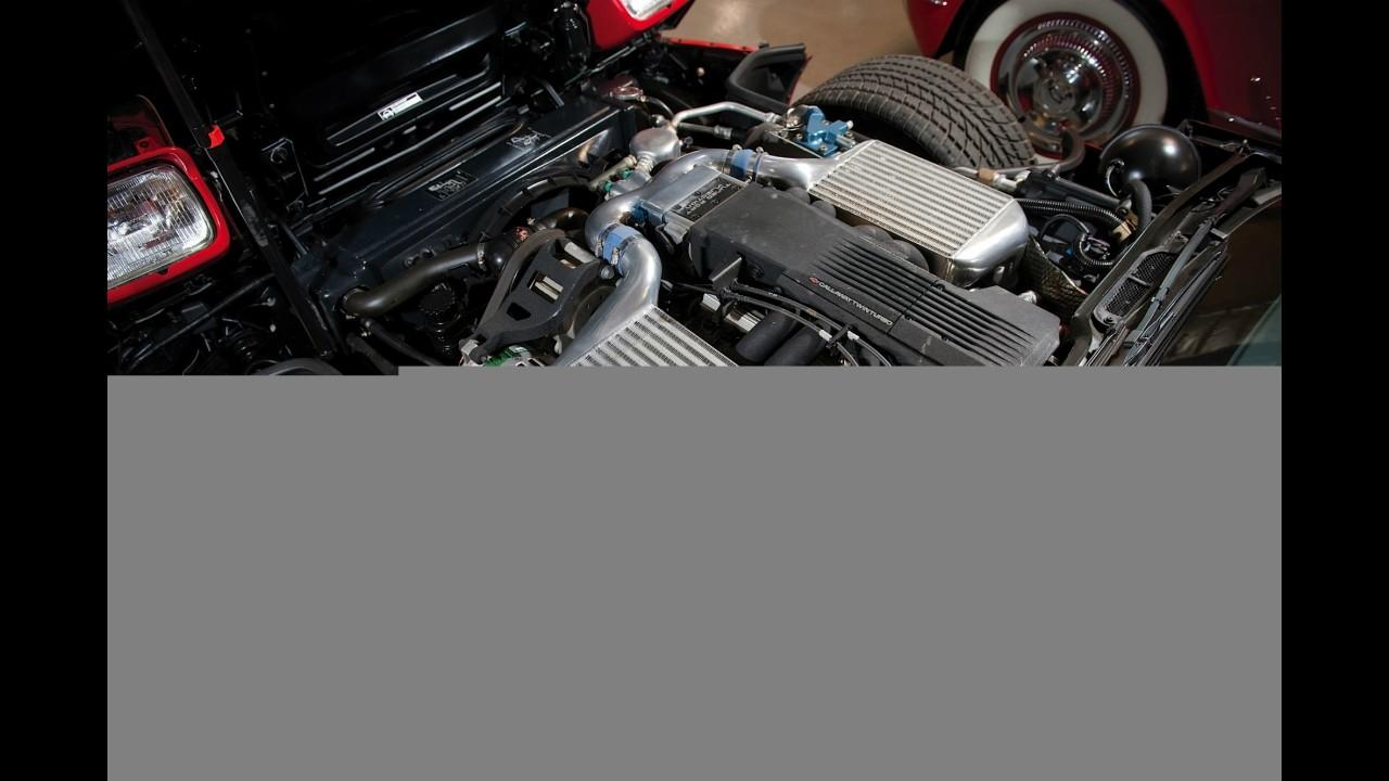 Chevrolet Corvette Callaway Twin Turbo Convertible