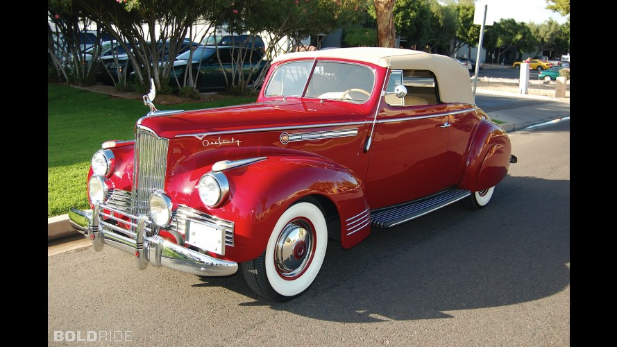 Packard Super Eight 160 Convertible Victoria