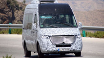 2019 Mercedes-Benz Sprinter Spy Photos