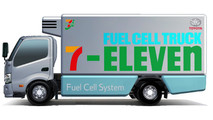 Toyota Fuel Cell Delivery Truck
