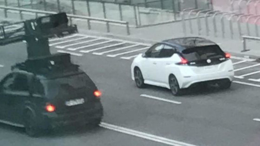La Nissan Leaf se promène déjà sans camouflage