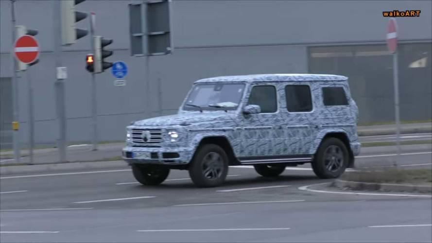 2018 Mercedes-Benz G-Class Spy Shots