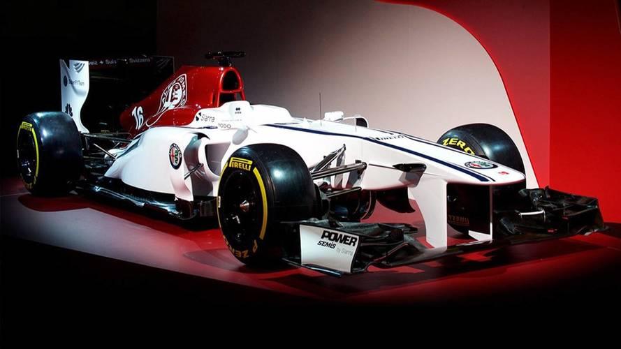 Alfa Romeo reveals 2018 F1 livery concept