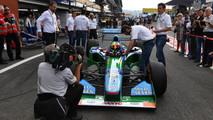Mick Schumacher Benetton F1-5
