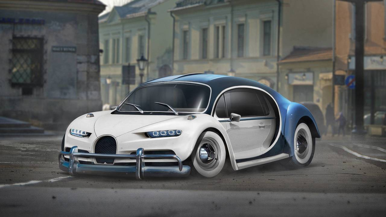 These Cool Yet Crazy Car Mashups Won't Leave You Indifferent