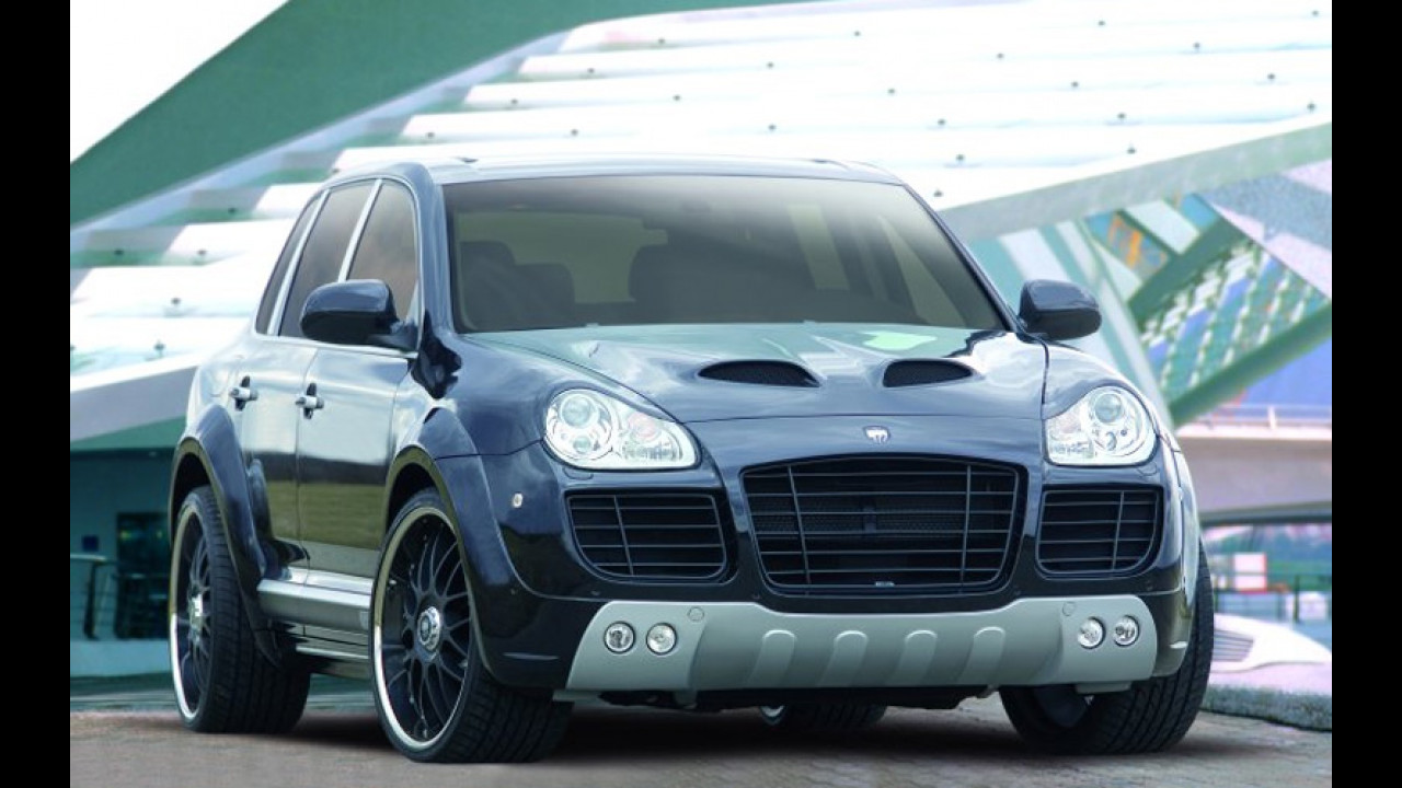 Porsche Cayenne by Lumma Design