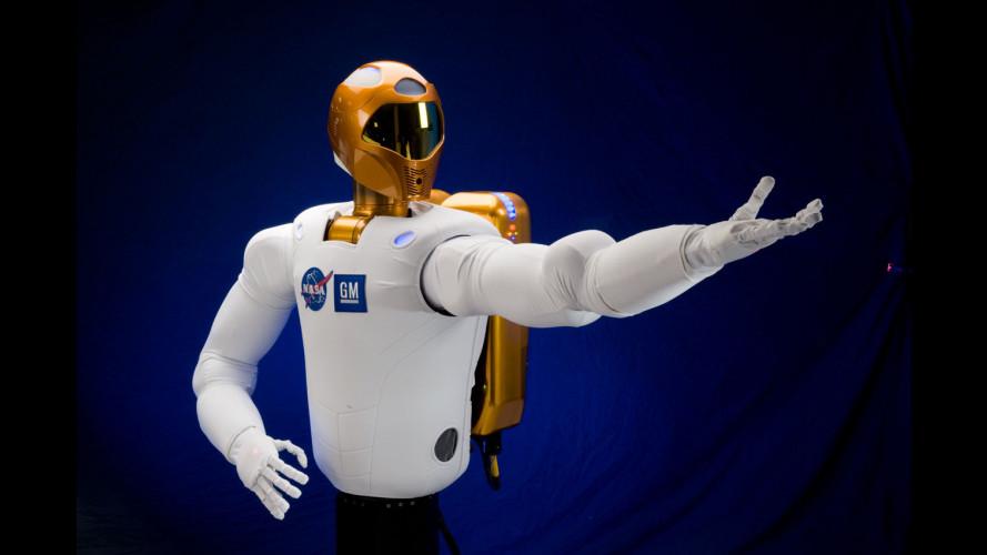 Robonaut 2 va nello spazio