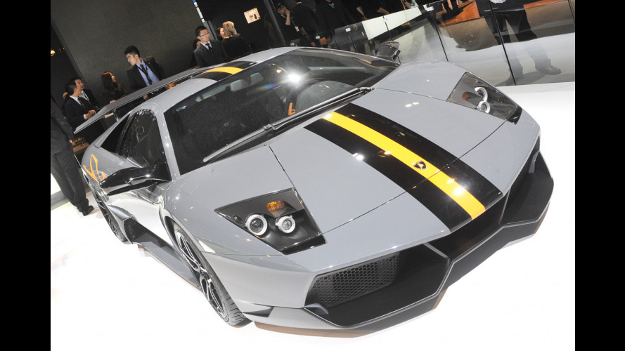 Lamborghini Murciélago LP 670-4 SuperVeloce China