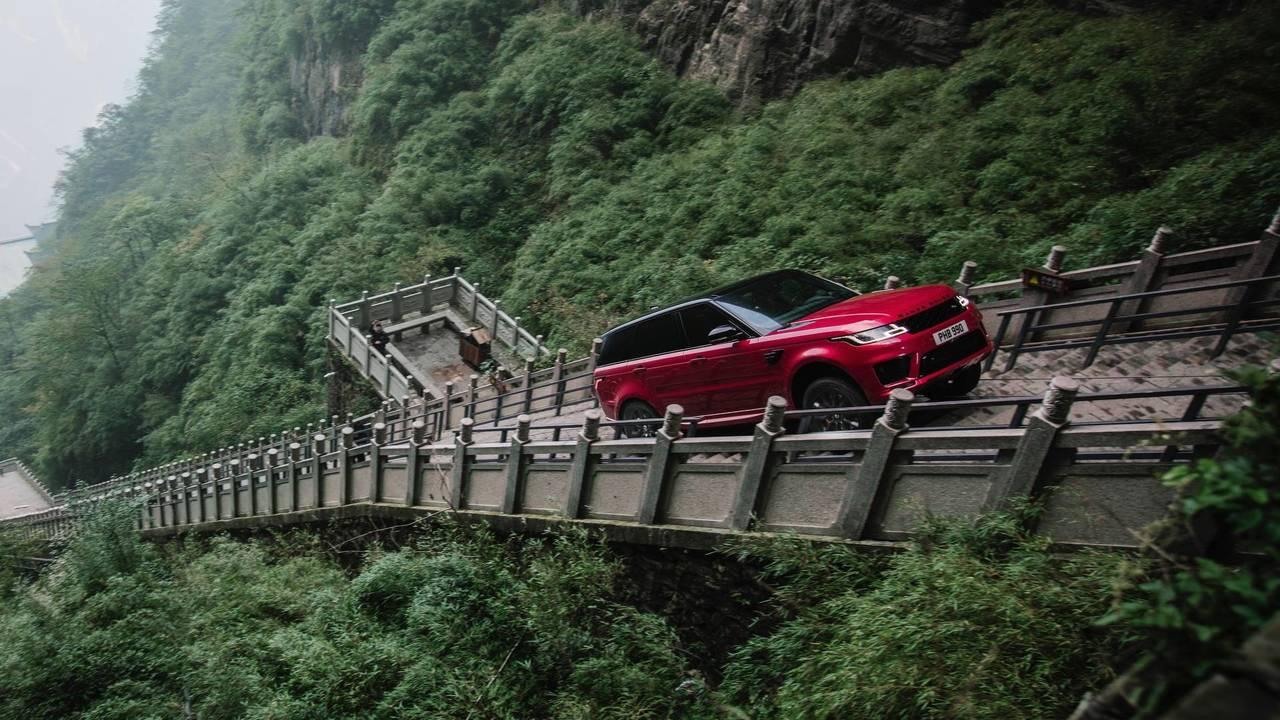 El Range Rover P400e y la Carretera del Dragón (2018)