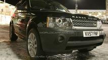 Tweaked grill on Range Rover Sport