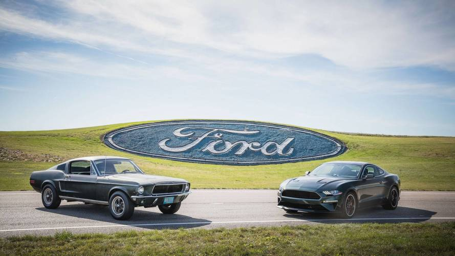 Jay Leno Chased By Original Bullitt Mustang While Driving New One
