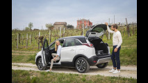 Opel Crossland X, gli accessori 2018