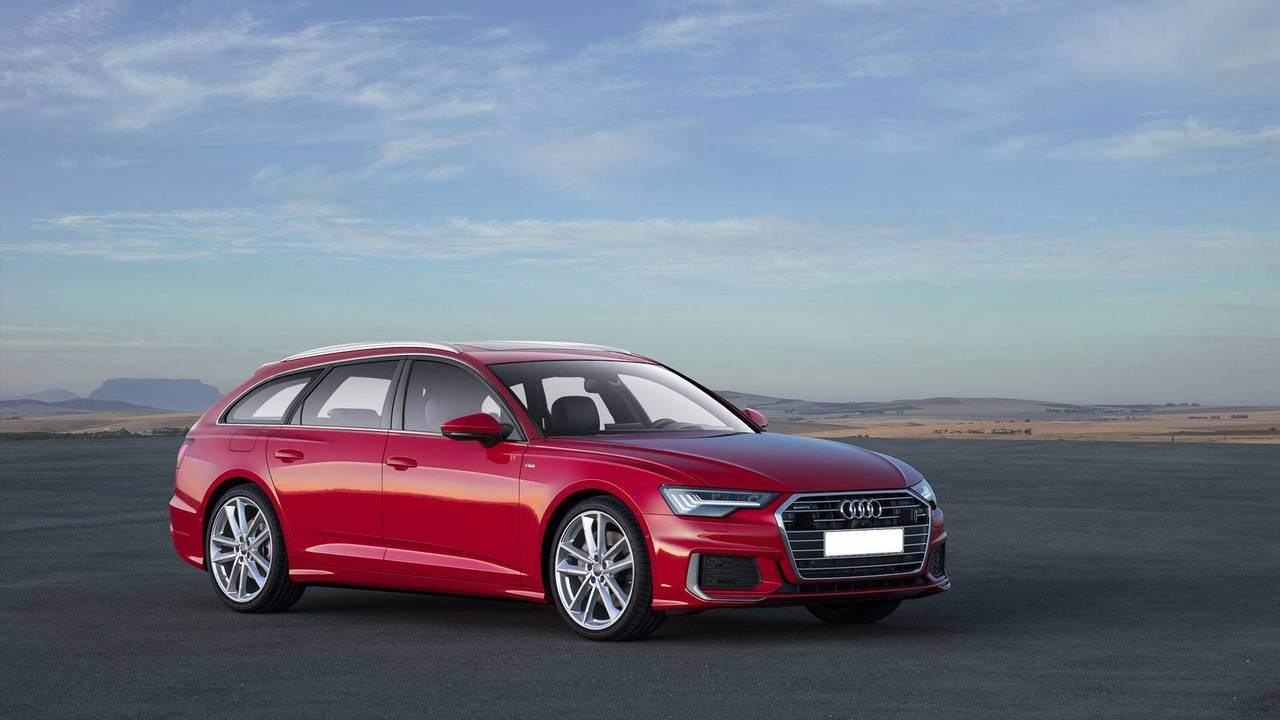 audi a6 avant allroad rs6 already exist in photoshop. Black Bedroom Furniture Sets. Home Design Ideas