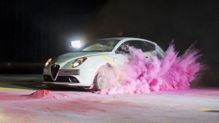 Alfa Romeo Mito creates abstract art in latest promo