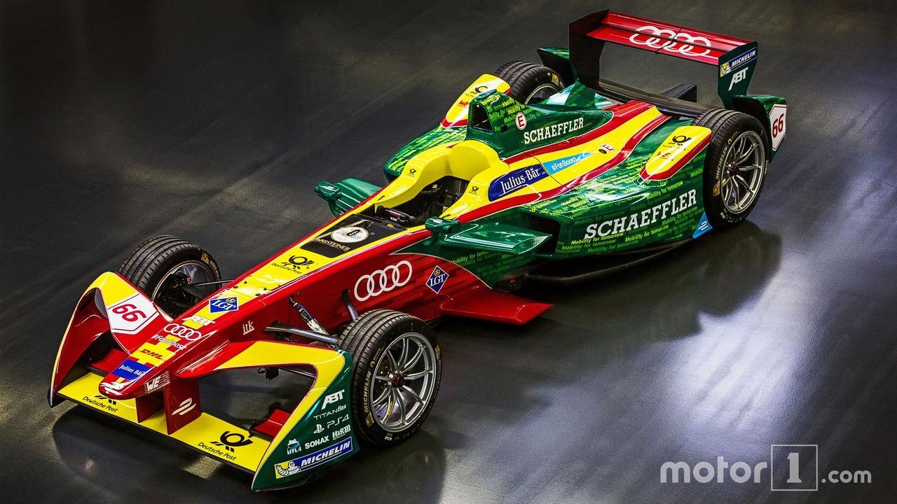 Audi Team ABT Schaeffler race car
