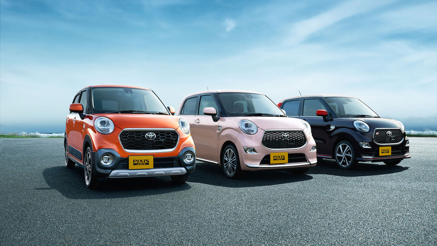 Toyota Pixis Joy'u Japonya'da tanıttı