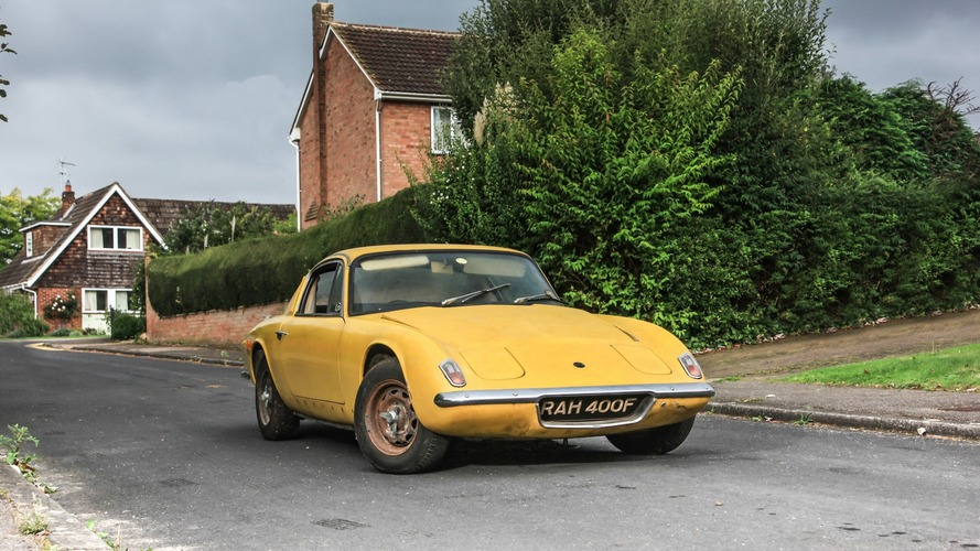 Ex-Graham Hill Lotus Elan given by Colin Chapman has no auction reserve