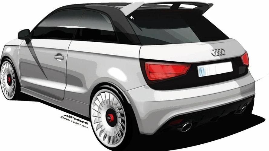 Audi A1 Quattro tested by DTM driver Filipe Albuquerque [video]