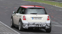 MINI Cooper JCW Challenge Edition spied at the Nürburgring