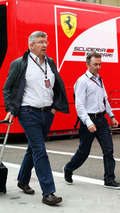 Ross Brawn and Paddy Lowe