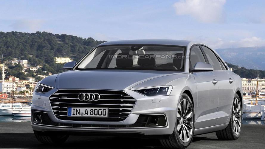 2017 Audi A8 tasarım yorumu