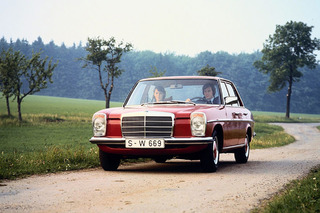 Four Decades: Mercedes Celebrates its Revolutionary Five-Cylinder Diesel
