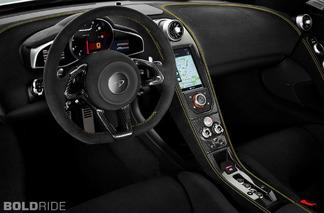 McLaren 650S Supercar detayları