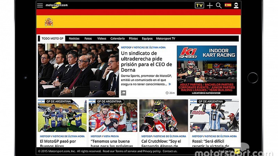 Through Acquisition Motorsport.com Launches New Digital Platform - Motorsport.com SPAIN