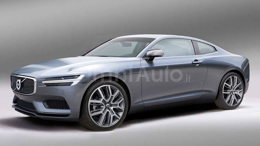 Volvo C90 render has the wow factor