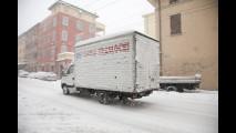 Maltempo: freddo, neve e ghiaccio su strade e autostrade - Le FOTO LIVE da Bologna, Modena, Milano, Forlì, Cesena