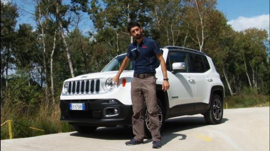 Jeep Renegade: fuoristrada sì, ma vado bene anche su strada [VIDEO]
