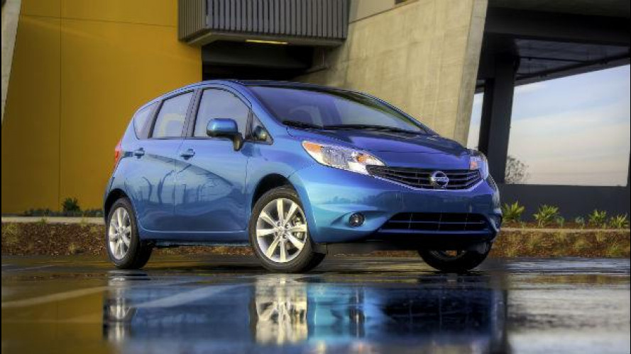 Nissan Versa Note, la monovolume compatta per gli USA