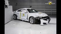 Crash test nuova Audi TT
