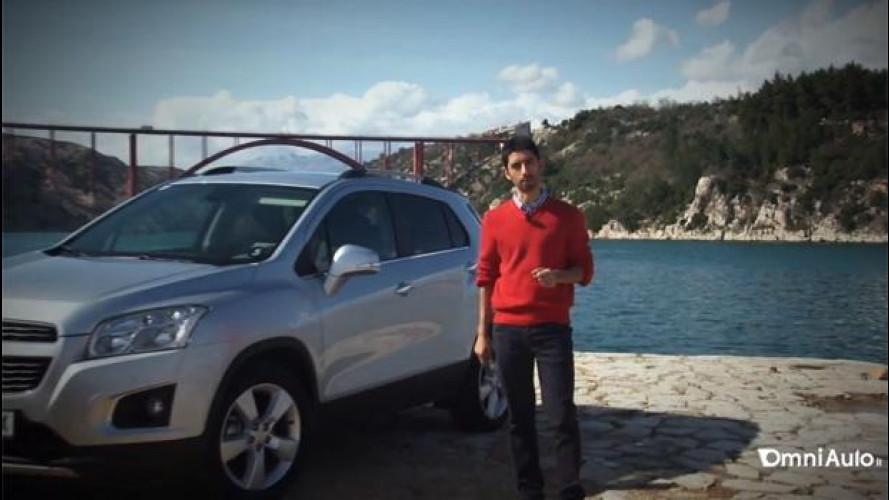 Chevrolet Trax, la nostra videoprova