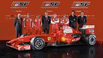 New Ferrari F60 Forumula 1 Racecar