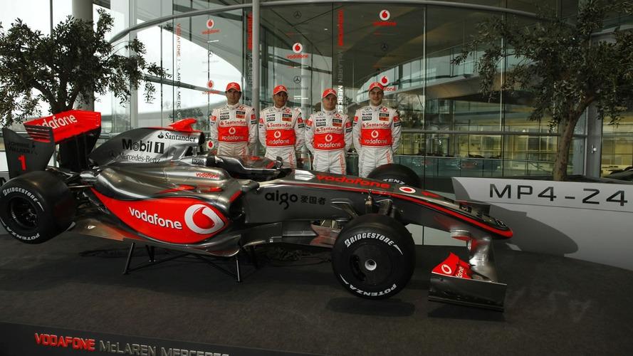 McLaren Launch 2009 MP4-24 F1 Car as Ron Dennis Announces Plans to Step Down