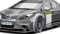 Toyota Avensis Next Generation Touring Car (NGTC) racing concept illustration 10.09.2010