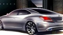 2010 Hyundai Equus design sketch - hi res
