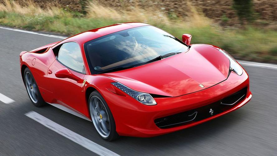 Ferrari 458 Italia UK Prices Announced