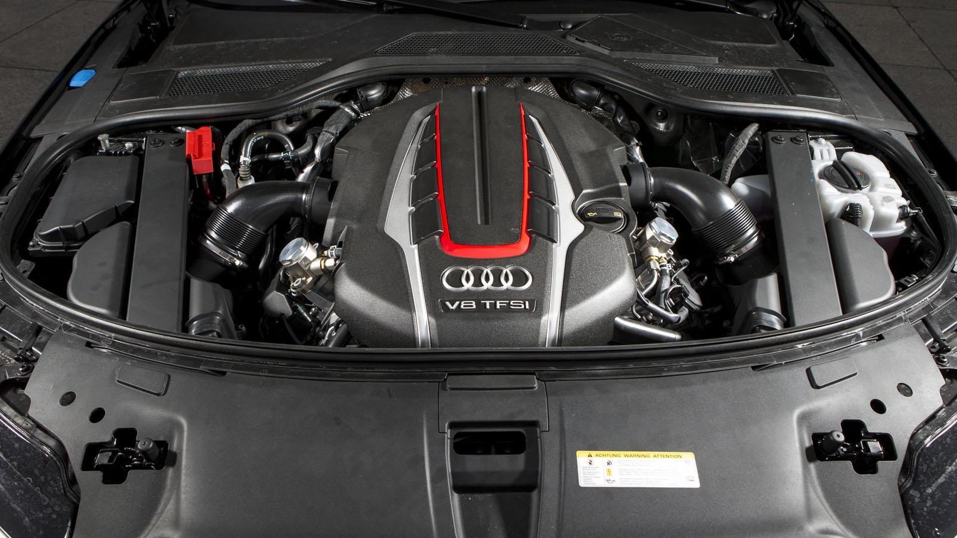 Двигатель 4.0 TFSI Audi S8. Тюнинг от ABT Sportsline