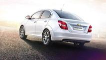 Chevrolet Aveo facelift