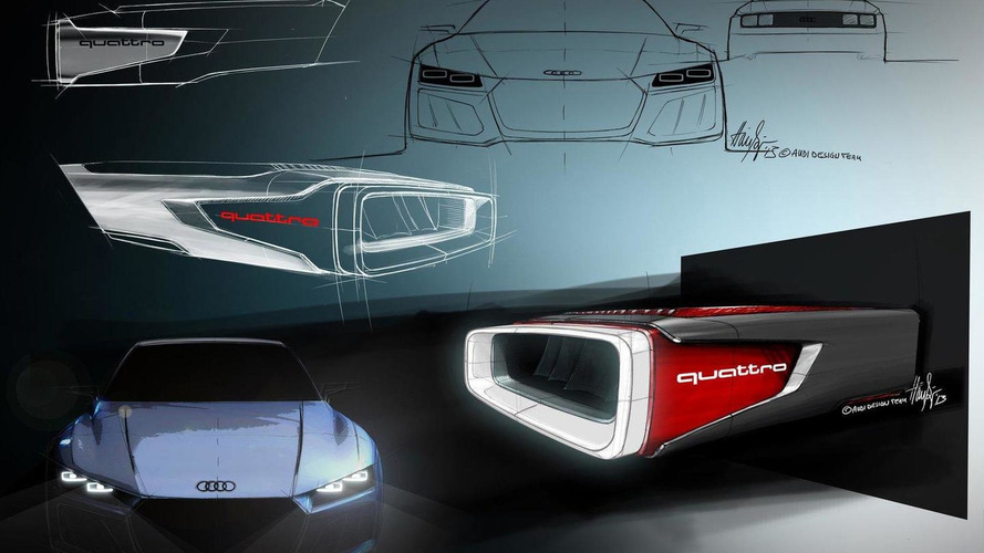 Audi Sport Quattro Concept live in Frankfurt [video]