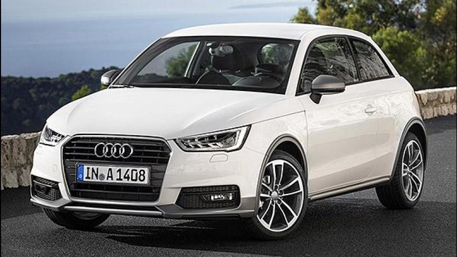 Audi A1 1.0 TFSI ultra, dowsizing di lusso da 18.200 euro