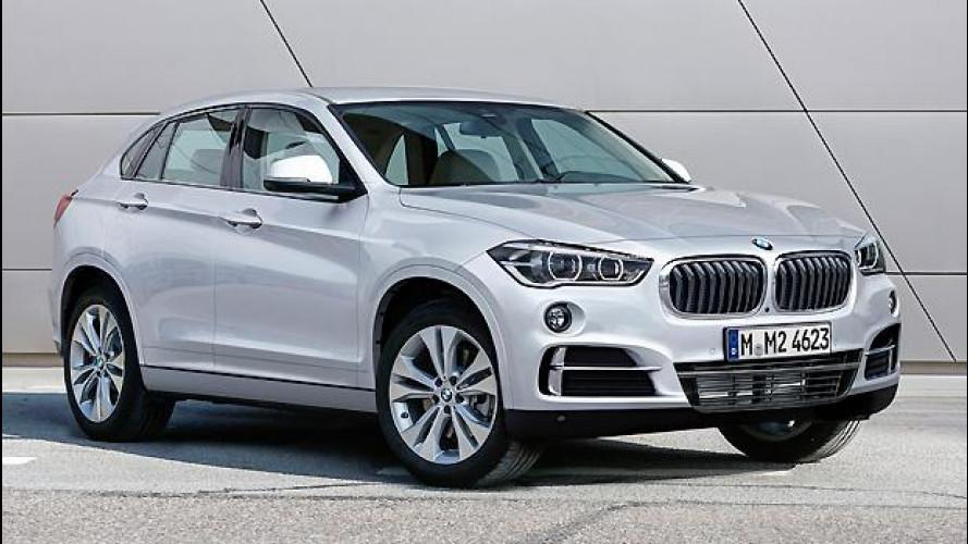 BMW X2, ecco come sarà il SUV sportivo compatto