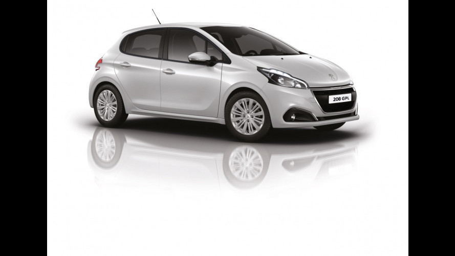 Peugeot 208, GPL anche per il restyling